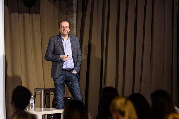 Максим Обрізан, лекція у Fedoriv Hub, фото www.facebook.com/reedmag