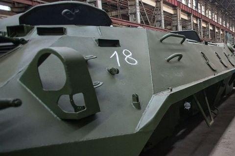 Турчинов заявил о растущем спросе на украинские БТР-3Е