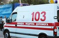 В Киеве возле ж/д вокзала подрались автоперевозчики