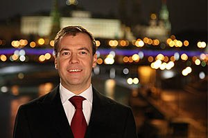 Медведев еще раз поздравил Януковича