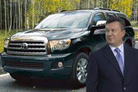 Януковичу купили три новых джипа