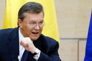 """Янукович возложил всю ответственность за """"беспредел в Украине"""" на Запад"""