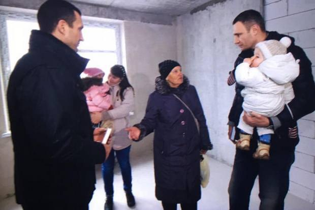 Володимир Кличко подарував квартиру сестрі Василя Стуса (фото)