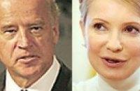 Байден и Тимошенко встречаются тет-а-тет