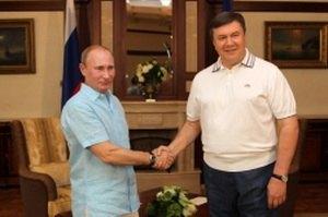 Путин обсудит с Януковичем поставки газа и пребывание ЧФ РФ в Крыму
