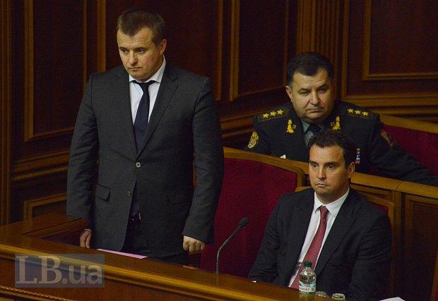 Владимир Демчишин(стоит)