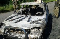 Нацгвардия задержала на Донбассе россиян, перевозивших оружие