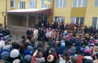 Порошенко открыл новую школу в Тернопольской области