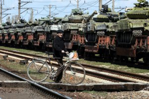 Россия прекратила отдавать захваченную в Крыму военную технику