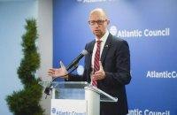 Яценюк: закон о поставках летального оружия имеет большие шансы пройти через Сенат США