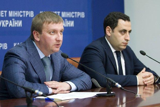 Павел Петренко(слева) и Георгий Вашадзе