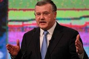 Гриценко пообещал суд над руководителями Партии регионов