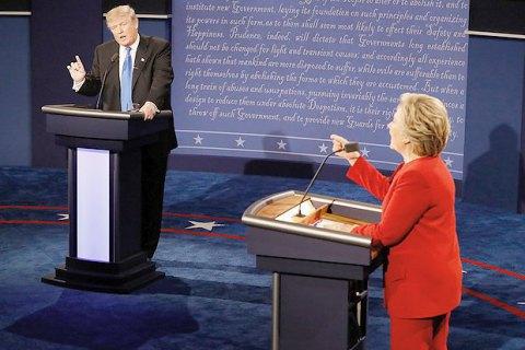 Неменее 80 млн. человек поглядели дебаты Трампа иКлинтон