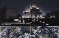 УПЦ МП начала строительство на месте Десятинной церкви