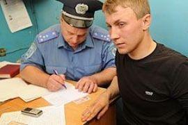 Абрамовского задержала милиция