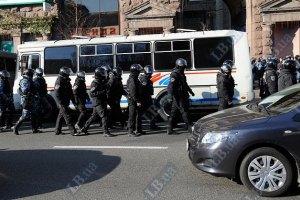 Центр Киева возможно перекроют из-за митинга