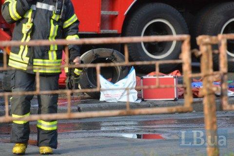 Педагог умер впроцессе пожара вшколе вДнепре