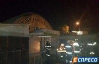 В Киеве горел Демеевский рынок