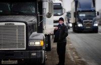 На Кубани дальнобойщики перекрыли дорогу на переправу в Крым (обновлено)