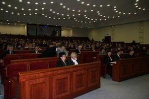 """Донецкий облсовет требует от Януковича """"вернуть порядок"""""""