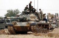 Турецкие войска с августа ликвидировали 1600 боевиков в Сирии