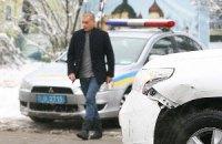 Российский политтехнолог Банковой попал в аварию в центре Киева