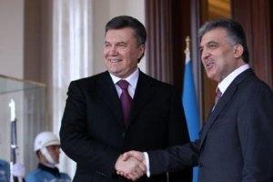 Янукович доволен результатом украинско-турецких переговоров
