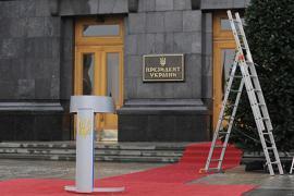Янукович так и не дождался снега