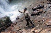 Спецназ Нацгвардии провел тренировку в горах