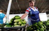 Росія відмовляється від українських огірків і помідорів