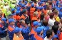 На Майдане Независимости митингуют профсоюзы