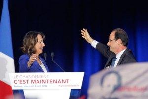 Парламент Франції очолить колишня дружина Олланда
