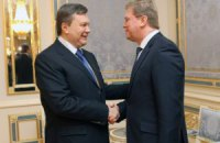 Янукович встречается с Фюле