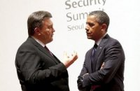 Янукович встречался с Обамой на Чикагском саммите