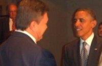 Янукович поздравил Обаму с 20-летием дипотношений Украины и США