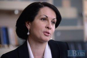 Турчинов объявил о выходе Калетник из фракции КПУ