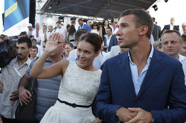 Андрей Шевченко чуть ли не главный успех Натальи Королевской на сегодняшний день