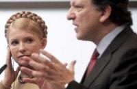Тимошенко завтра встретится с Баррозу