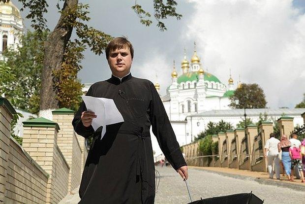 Андрей Середа до мобилизации нес послушание журналиста в Киево-Печерской Лавре