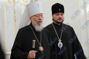 Митрополит Владимир напомнил о запрете агитации в храмах
