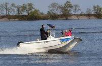 Полиция запустила водный патруль в Черкассах