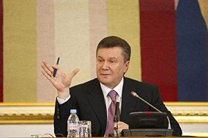 Янукович: имидж Украины ухудшается из-за высокой смертности на дорогах