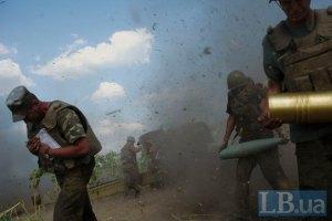 Генштаб разрешил применять артиллерию в районе Марьинки