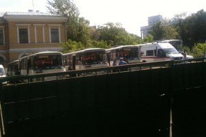 "В центр Киева уже подогнали ""Беркут"""