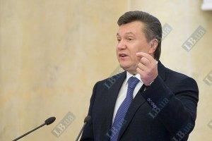 Янукович предлагает перейти к выборам по партийным спискам