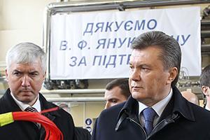 Янукович осознал опасность ракетного топлива