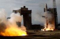 Ракета, яку запустила Північна Корея, впала в океан