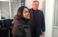 Деканоидзе встретила Новый год на работе