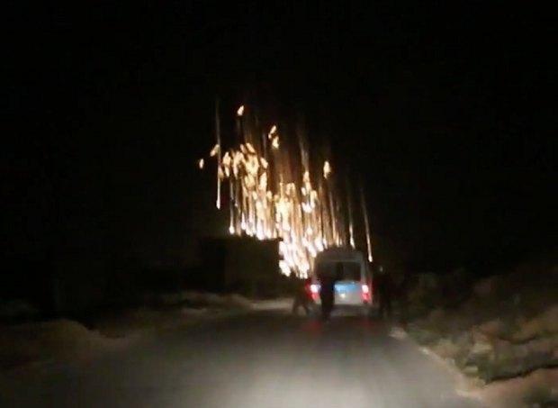 ВІДЕО: Росія застосувала заборонені фосфорні бомби проти сирійських повстанців