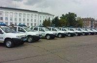 Полиция прифронтовых районов получила 86 автомобилей Renault Duster